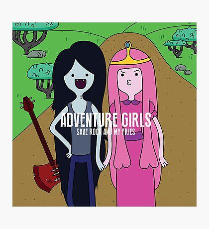 Adventure Girls Photographic Print