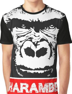 Remember Harambe Graphic T-Shirt