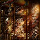 Library - It starts with a single page 1920 by Mike  Savad