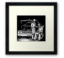 Dead men Rockin' Framed Print