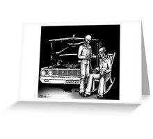 Dead men Rockin' Greeting Card