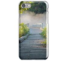 Wooden Path in the Countryside - Prints, Cases, Pillows and More iPhone Case/Skin