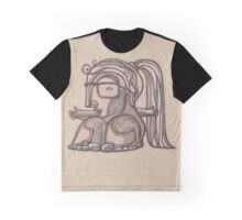 Abstract girl with big legs Graphic T-Shirt