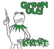 Green Guy Photographic Print