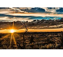 Redmond sunset 104 Photographic Print
