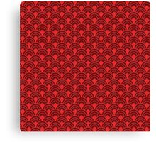 Red scales Canvas Print