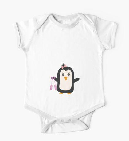 Penguin dancer   One Piece - Short Sleeve