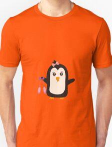 Penguin dancer   Unisex T-Shirt