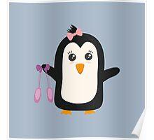 Penguin dancer   Poster