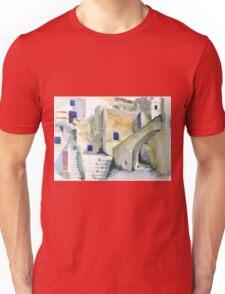watercolor_village T-Shirt
