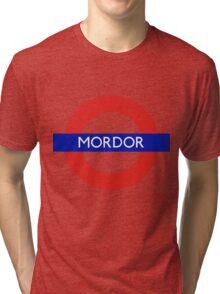 Fandom Tube- MORDOR Tri-blend T-Shirt