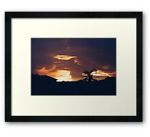 Fire Skies Framed Print
