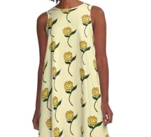Homespun Rose A-Line Dress