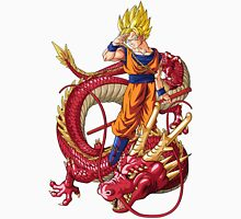 Super Saiyan Goku and Ultimate Shenron - Dragon Ball GT Unisex T-Shirt