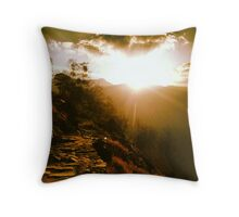 Himalayan Trail Throw Pillow