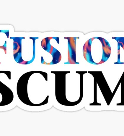 Yugioh Fusion Scum Arc V Sticker