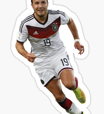Mario Gotze - Germany (Sticker) Sticker