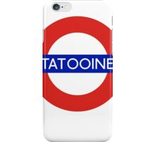 Fandom Tube- TATOOINE iPhone Case/Skin