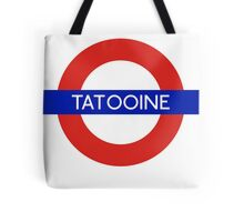 Fandom Tube- TATOOINE Tote Bag