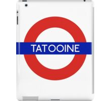 Fandom Tube- TATOOINE iPad Case/Skin