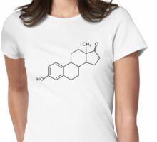 Estrogen Symbol Womens Fitted T-Shirt