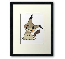 Pokemon Mimikyu Pikachu Disguise Framed Print