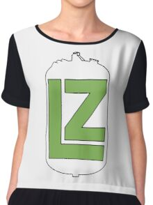 The LZ Collaboration Logo Chiffon Top
