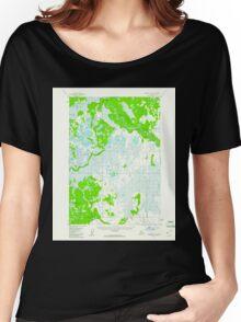 USGS TOPO Map Alaska AK Sleetmute C-2 359251 1954 63360 Women's Relaxed Fit T-Shirt