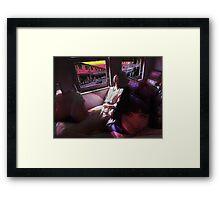 Ishikawa Train Framed Print