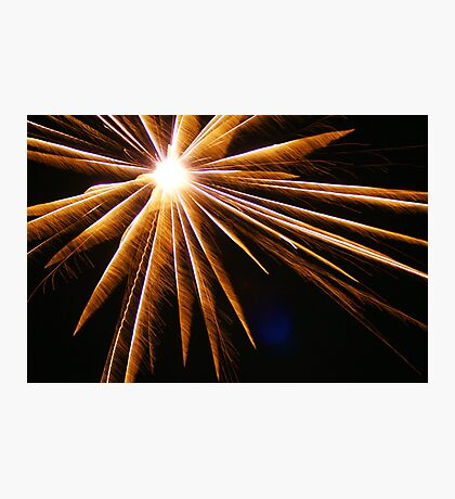 Burst, Honor, Thanks! Freedom! Celebration; We honor you for your service! We are grateful for our freedom! USA  Photographic Print