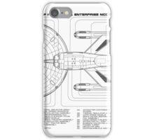 USS Enterprise (NCC-1701) iPhone Case/Skin
