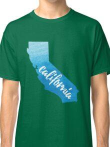 California - blue watercolor  Classic T-Shirt