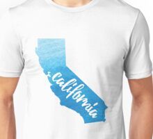 California - blue watercolor  Unisex T-Shirt