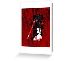 Kill la Kill - Ryuko Matoi Greeting Card