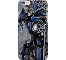 Paint brushed Harley Davidson (Vertical for phonecase) iPhone Case/Skin