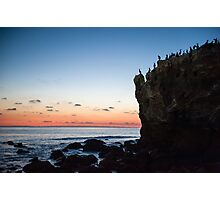 Sunset in Malibu, California Photographic Print