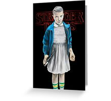 Stranger Things - Eleven Greeting Card