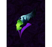 Maleficent - The Greatest Villain of All Photographic Print