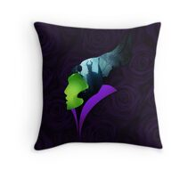 Maleficent - The Greatest Villain of All Throw Pillow