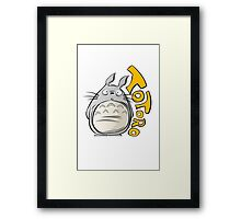 Totoro! Framed Print