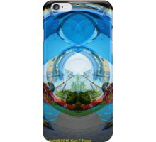 Classic car as abstract art iPhone Case/Skin