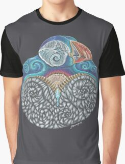 Puffin Totem Graphic T-Shirt