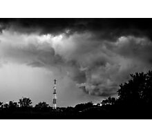 Storm Approach Photographic Print