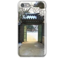 Sunlight Through the Palace Gate iPhone Case/Skin
