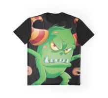 Halloween Monster 3 Graphic T-Shirt