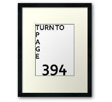Page 394 Framed Print