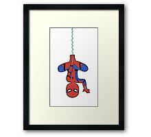 spiderling Framed Print