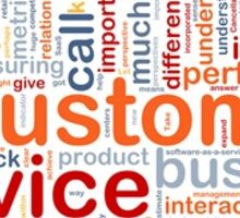 Customer Service collage Sticker