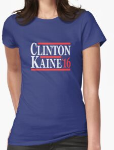 Clinton Kaine 16 Womens Fitted T-Shirt