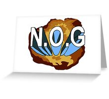 N.O.G Greeting Card